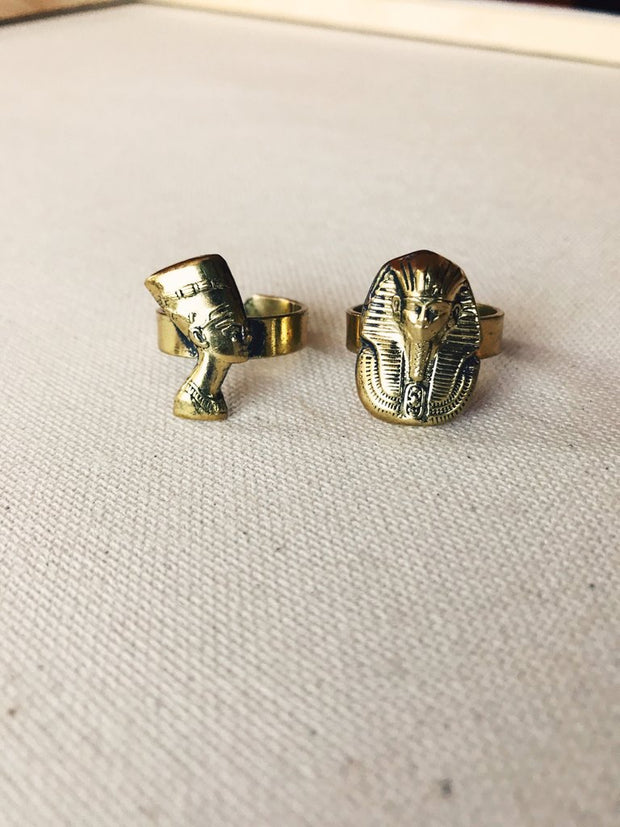 Dynasty Ring- King Tut or Nefertiti