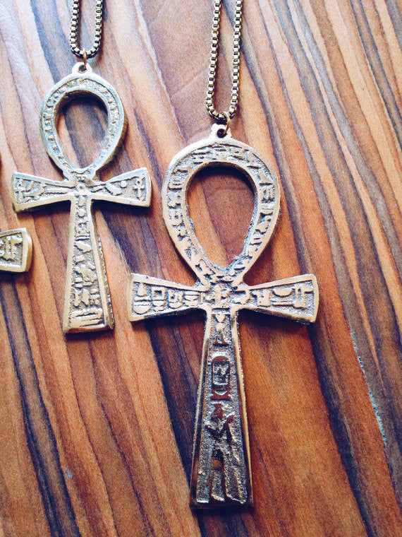 Major Key Ankh Necklace // Key of Life
