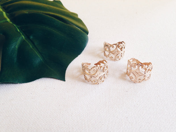 Reign Filigree Rings