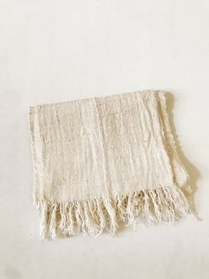 Mudcloth Scarf// White