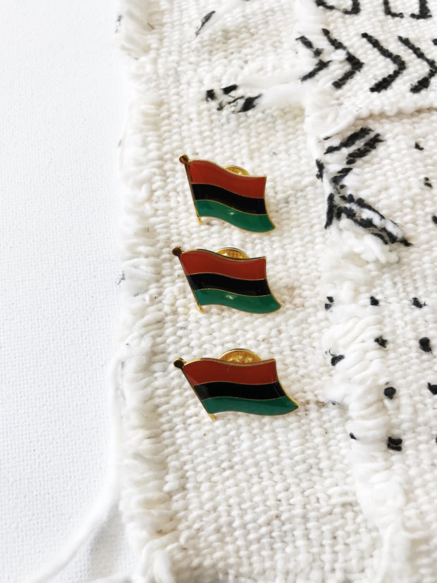 Pan African Flag Pin
