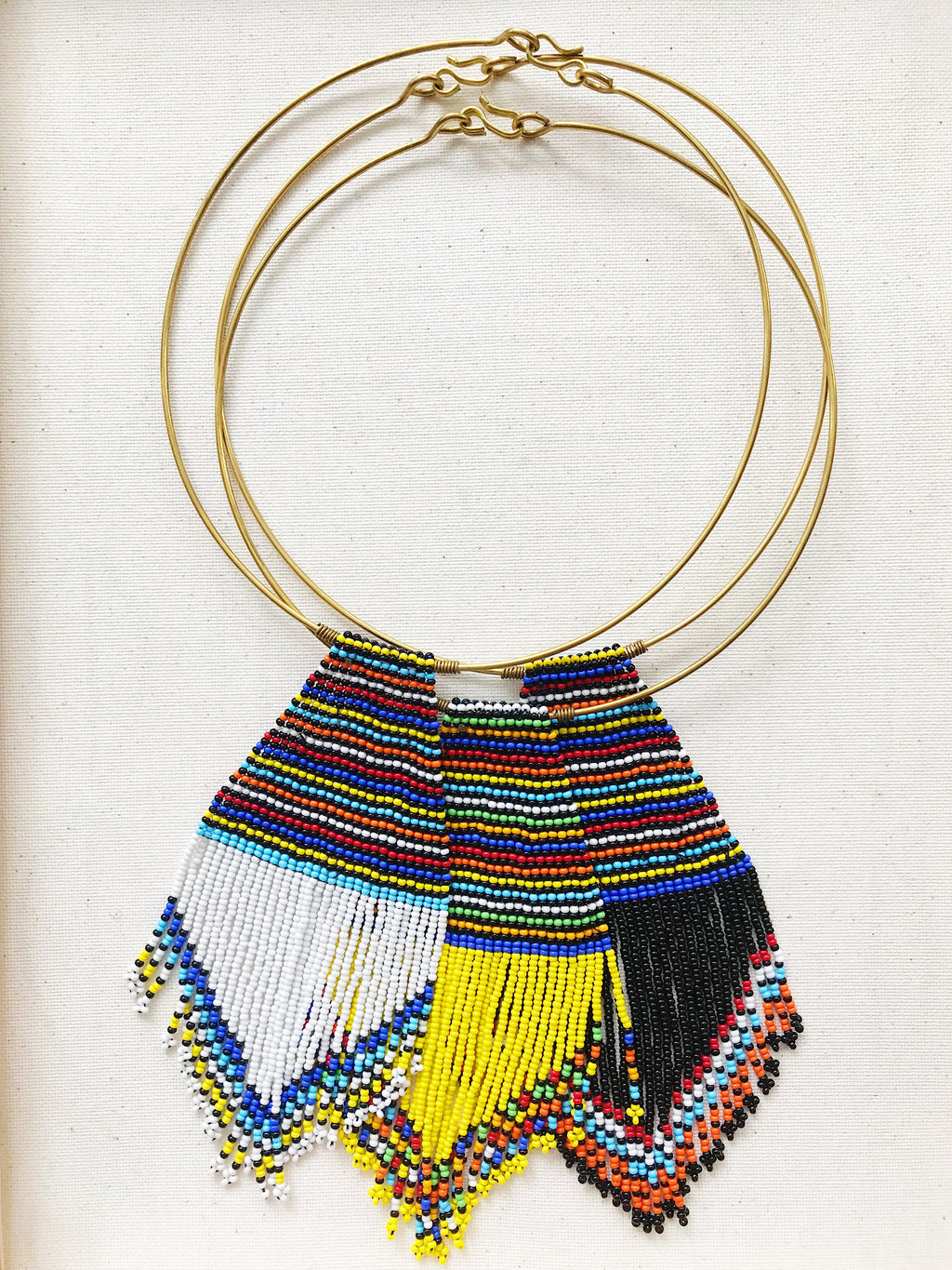 Maasai Fringe Necklace