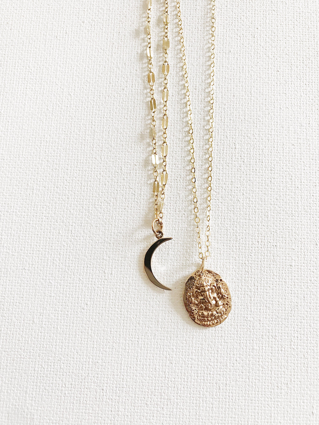 Ancient Ganesh Coin Necklace