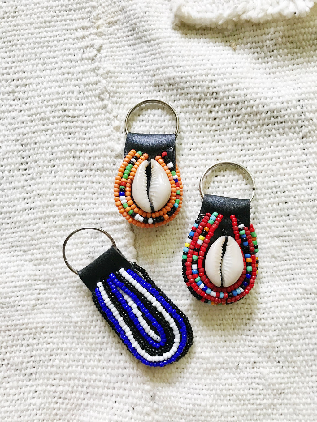 Maasai Beaded Key Chain