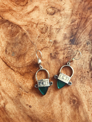 Moroccan Jewel Earrings