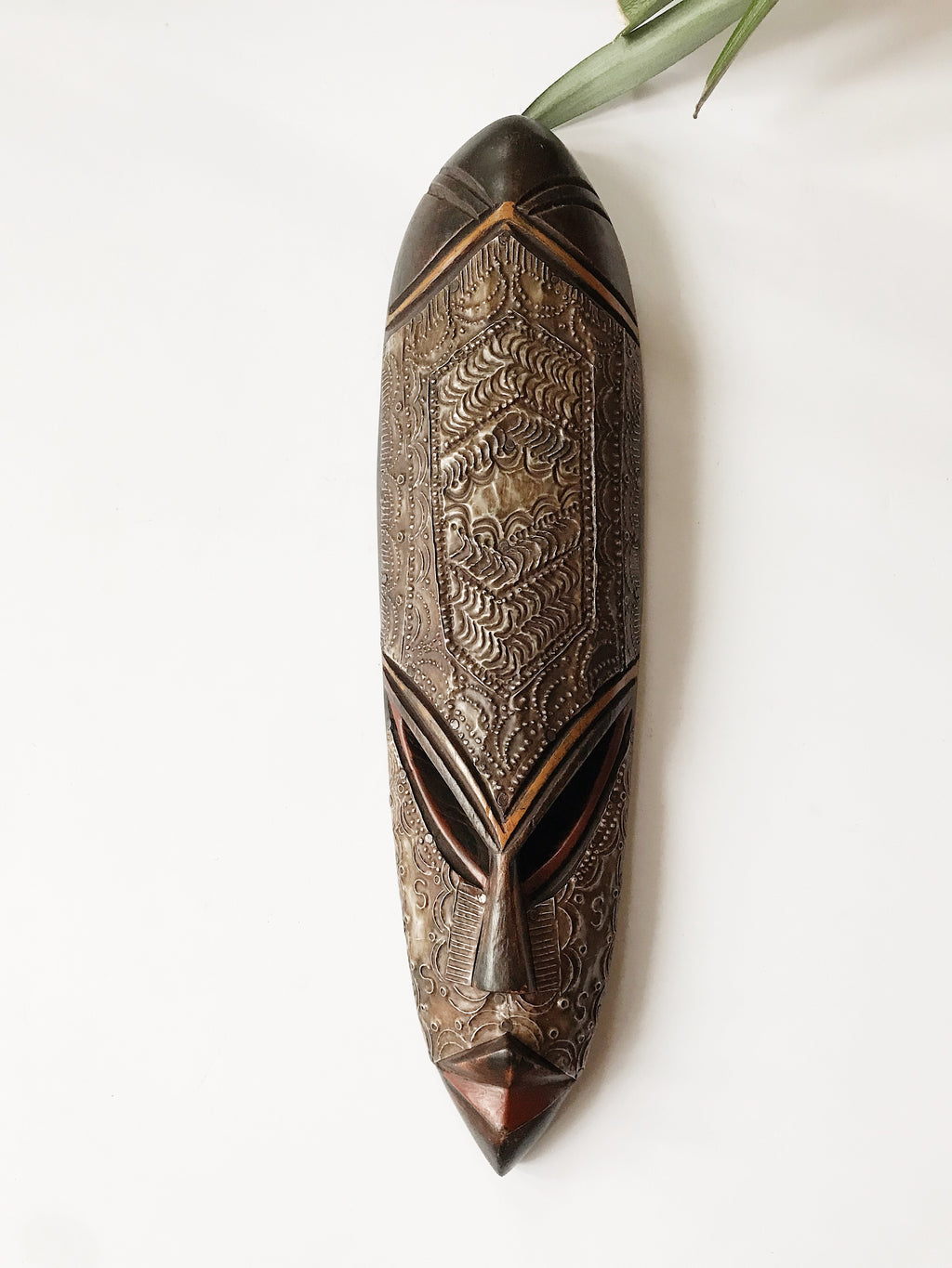 Ebony Fang African Mask I