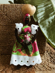 Mama Africa Doll w/ Bowl & Baby #6