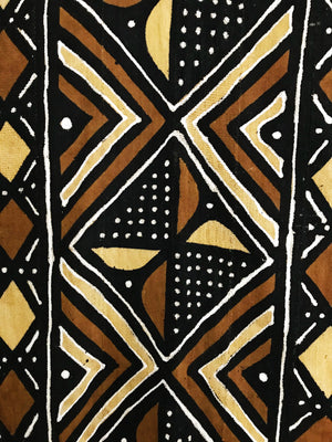African Mudcloth Fabric XXL// Multicolor #2