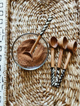 Batik Olive Wood Coffee Scoop