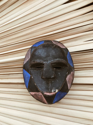 "Congolese Songye ""Passport"" Mask (Set of 3)"