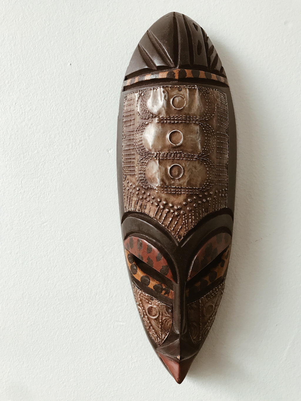 Small African Fang Mask I