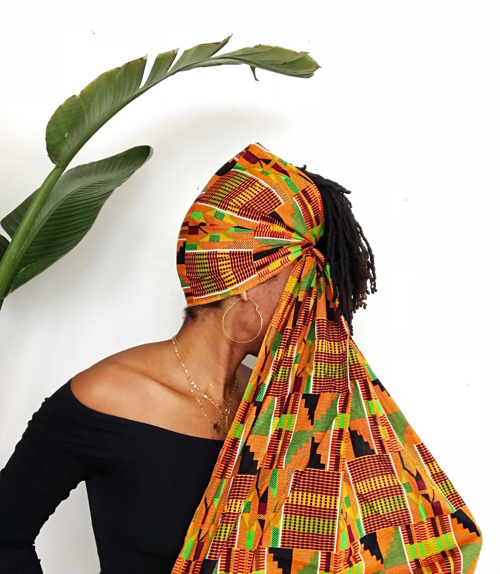 Kente Head Wrap