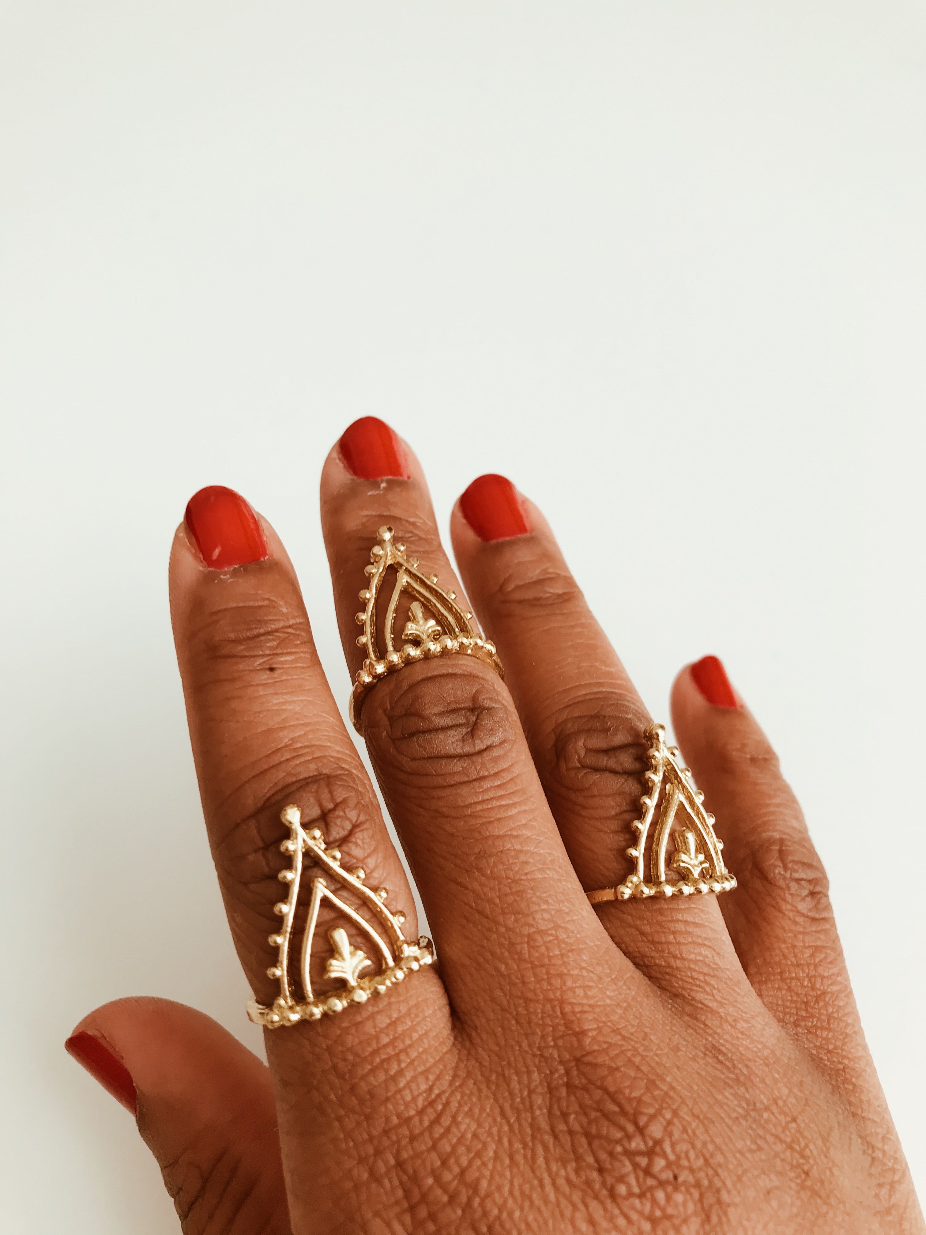 Indii Crown Ring