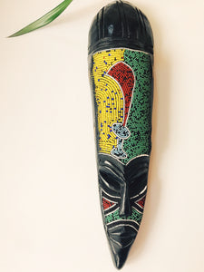 Mosaic Machete West African Mask II