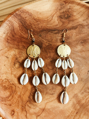 Oracles Cowrie Earrings