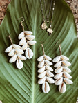 Bahama Mama Cascading Cowrie Earrings