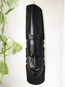 Ebony Brother Man Senegal Mask #3