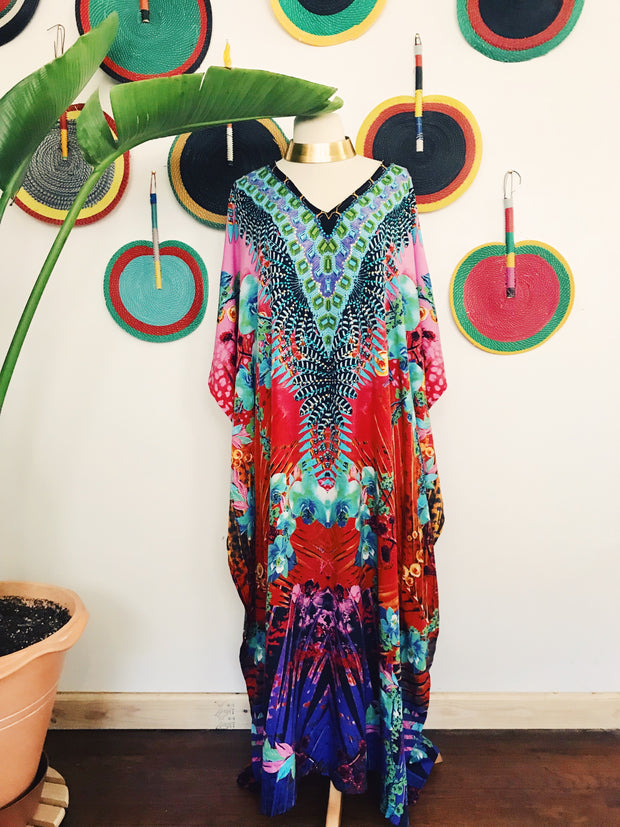 Tropical Paradise Kaftan