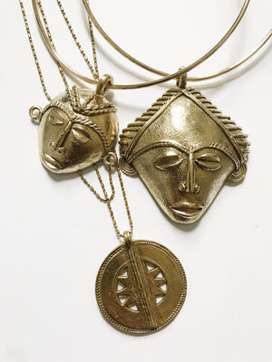 Chaka Medallion Necklace