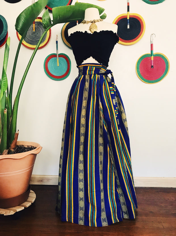 Legacy African Print Maxi Skirt