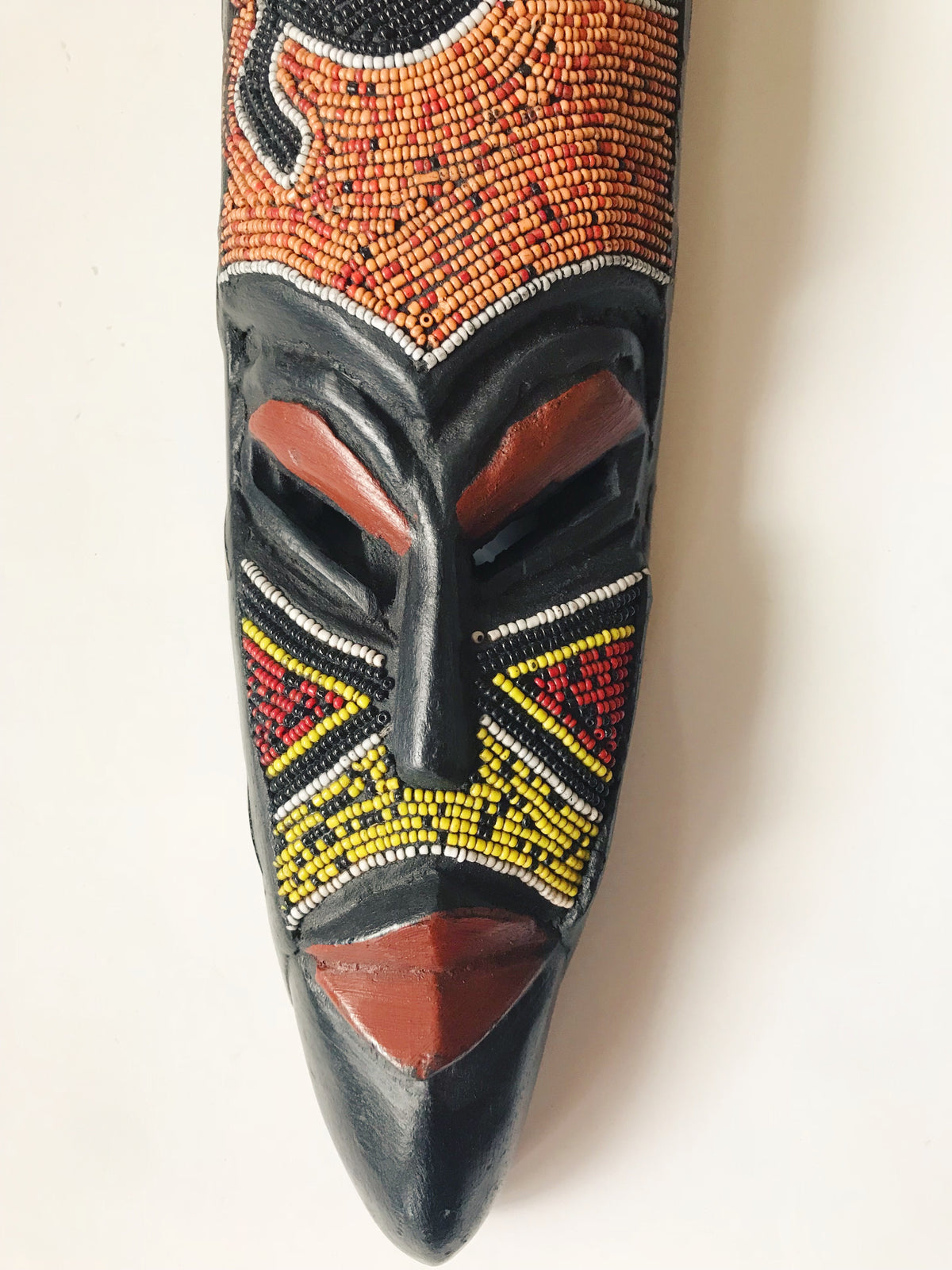 Mosaic Frog West African Mask