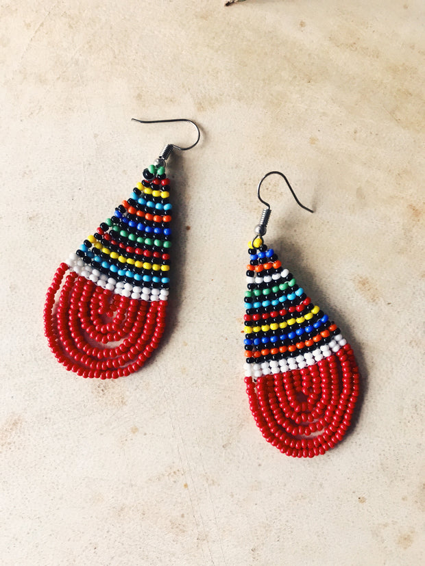 Woven Maasai Earrings