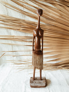 Mozambican Village Woman Statue
