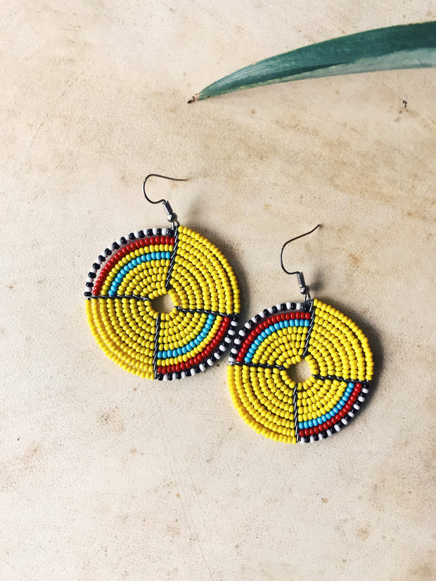 Shift Maasai Earrings