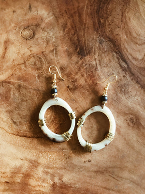 Sheba Bone Earrings