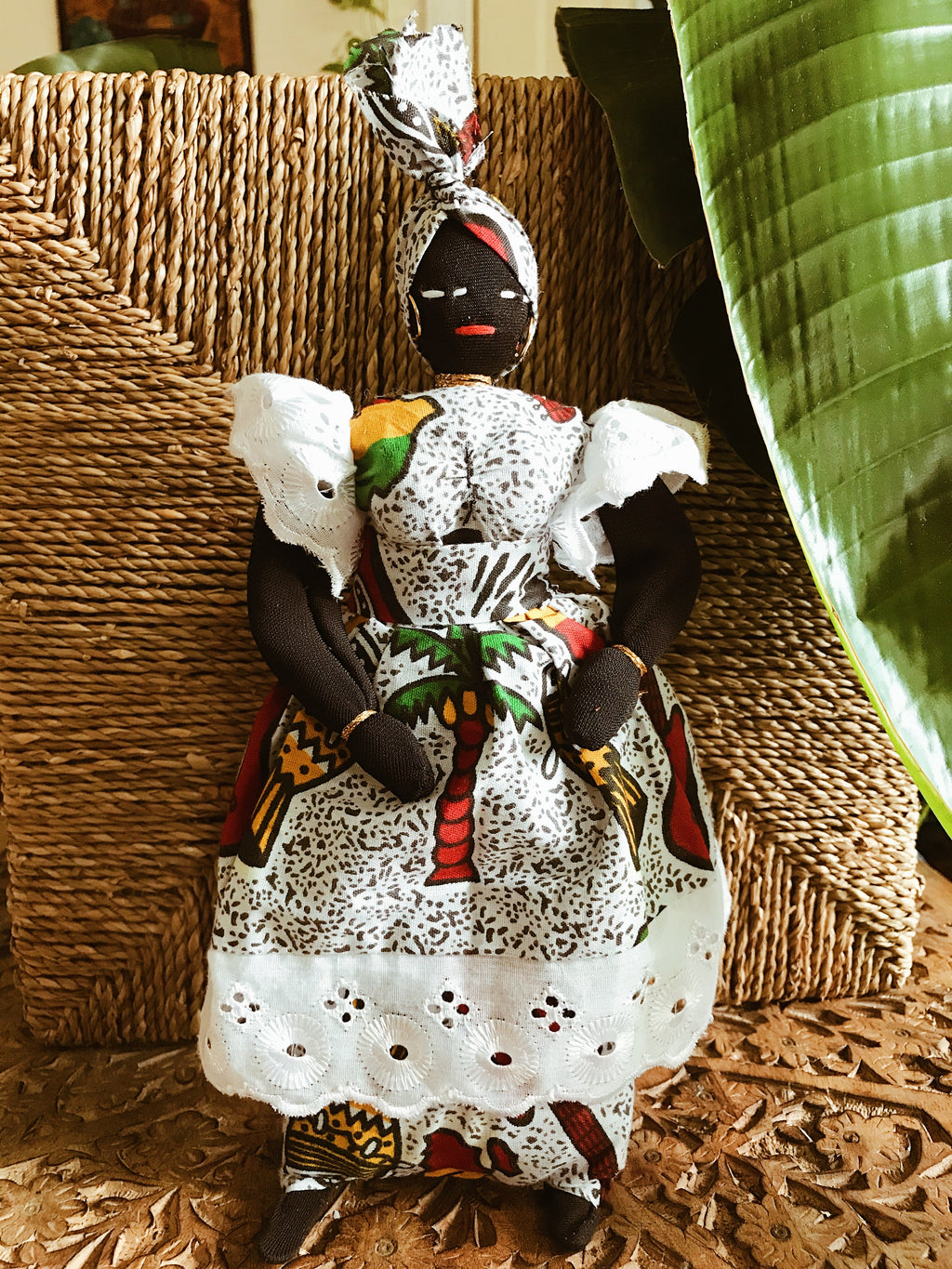 Mama Africa Doll w/ Baby #7