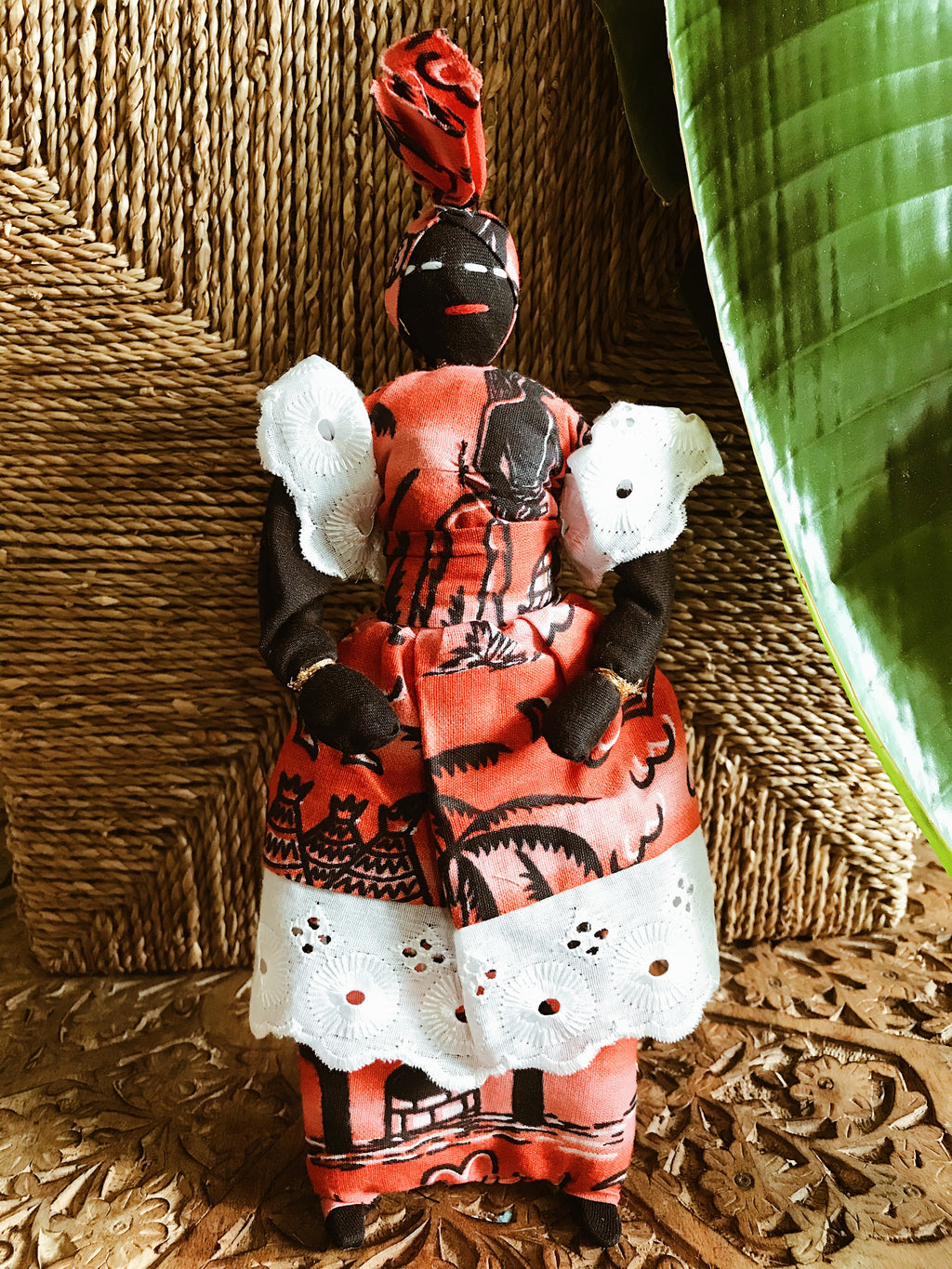 Mama Africa Doll w/ Baby #5