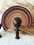 Ashanti Fertility Doll Fan// Multicolor #8