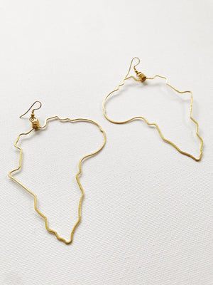 Africa Outline Hoops