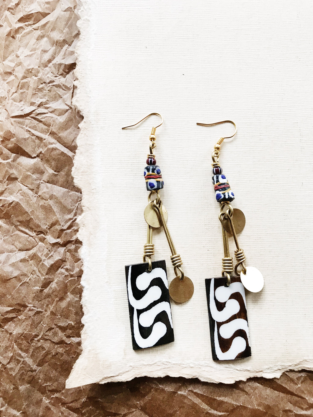 Harlem Bone Earrings