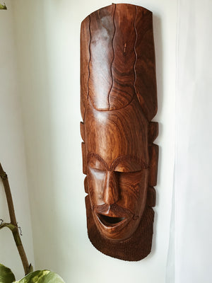 Brown Brother Man Senegal Mask