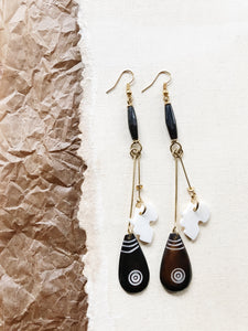 Cacao Africa Earrings