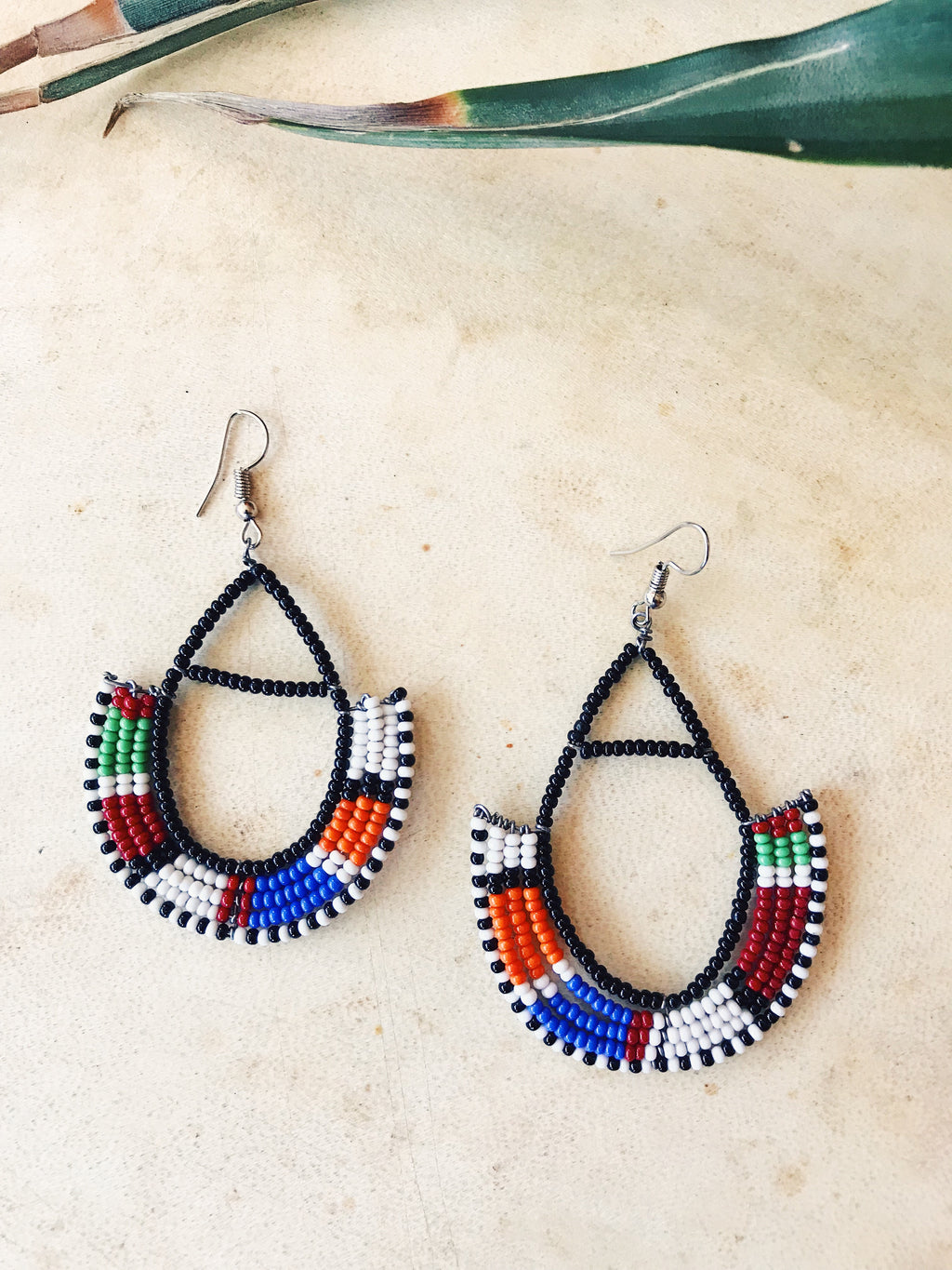 Zulu Hoop Earrings