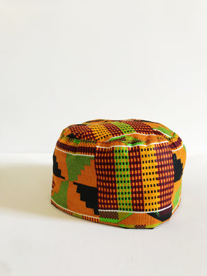 Original Kente Kufi Hat