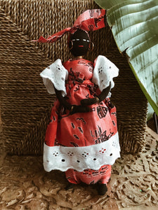 Mama Africa Doll w/ Baby #3