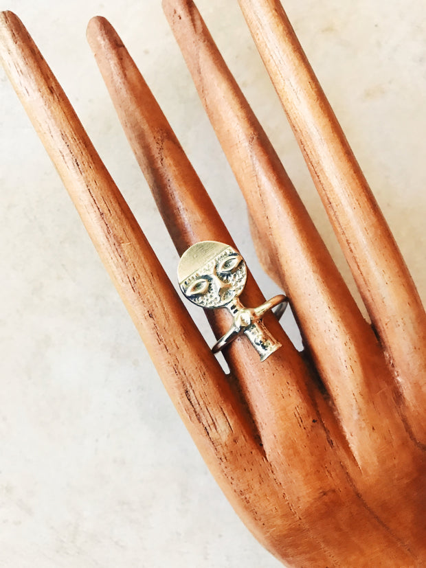 Akuaba Fertility Doll Ring