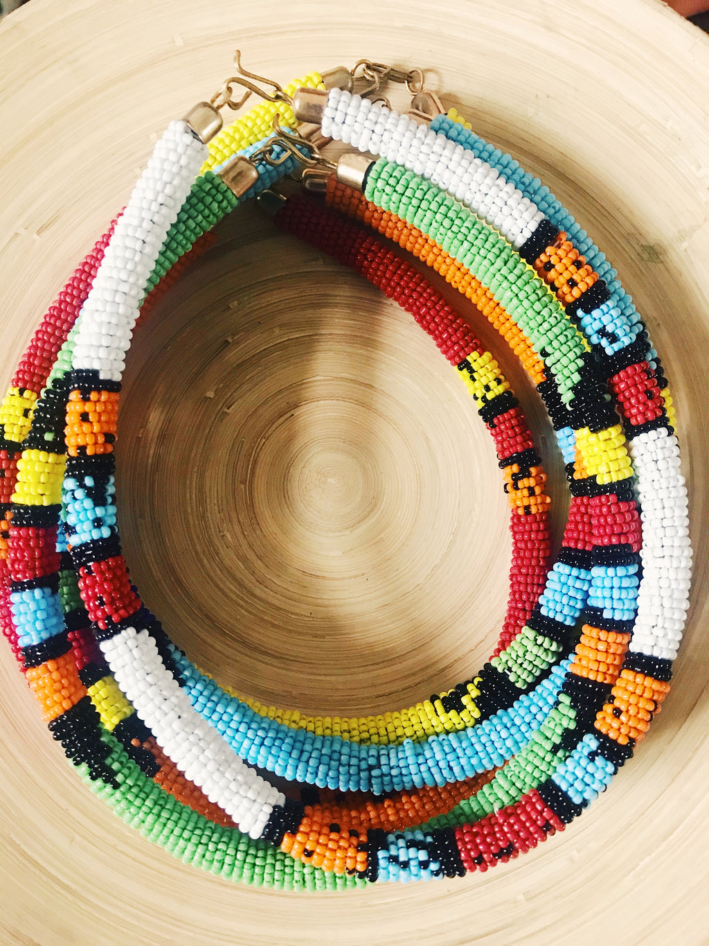 Kenyan Maasai Bead Necklace