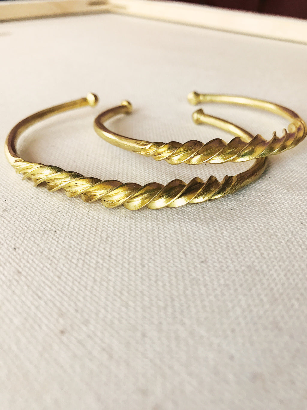 Fulani Twisted Bangle