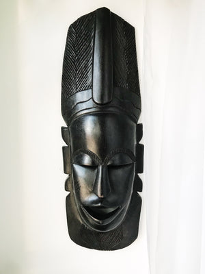 Ebony Brother Man Senegal Mask