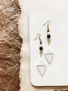Maha Bone Earrings