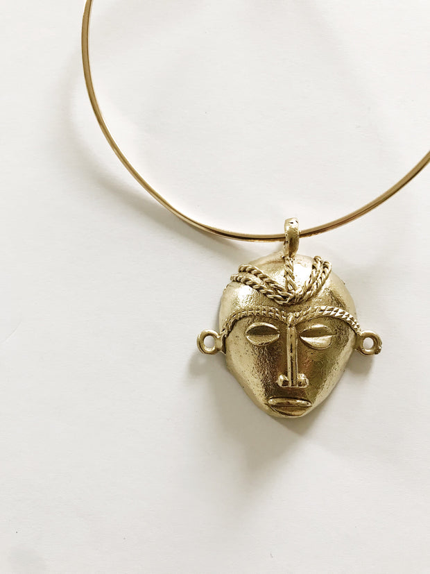 Eritrea Chief African Mask Choker