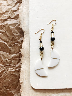 Soma Bone Earrings