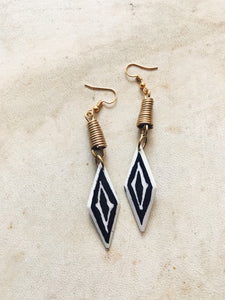 Bantu Bone Earrings