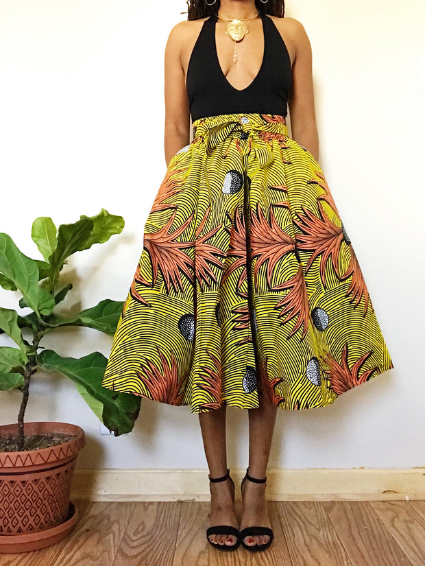Fineapple African Print Skirt