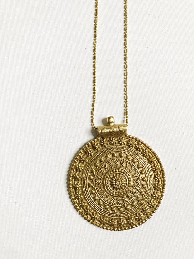 Tulum Medallion Necklace