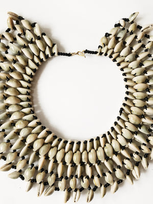 Of the Nile Cowrie Choker